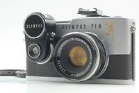 【NEAR MINT+++】 Olympus Pen F 35mm Film Camera F,Zuiko 38mm F1.8 From JAPAN #1566