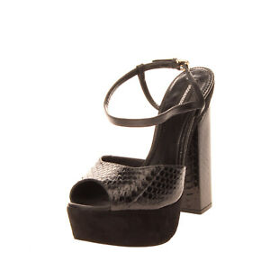 RRP €870 DSQUARED2 Snakeskin & Leather Sandals EU 41 UK 8 US 11 Made in Italy