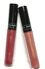 Ready To Wear Lot of 2 Lip Lacquer/Lipgloss in the shades of Apricot & Pink