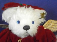 Vintage Natale Christmas Angel Annette Funicello Collectible Bear 11 inch Ltd Ed