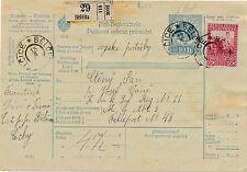 Post-Begleitadresse 1916 aus Belcitz an die Feldpost 48 (B35)