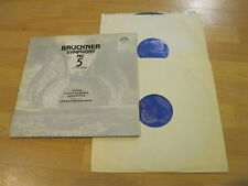 2 LP Bruckner Symphony Nr.5 B Flat Major Vinyl Supraphon CSSR 1 10 1211-2