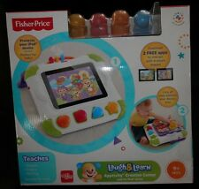 Fisher-Price Laugh and Learn Apptivity Creation Center Case Shapes Blocks 9+ MOS