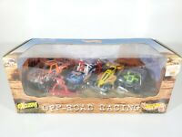 Hot Wheels Off Road Racing 4 Car Set 1997 NEW NIB 1/64 Scale Diecast