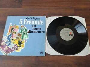 Fünf Freunde auf neuen Abenteuern Vinyl LP Schallplatte Hörspiel Enid Blyton