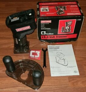 NEW  Craftsman C3 19.2v CORDLESS Compact ROUTER Trimmer Woodworking  315.115830