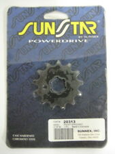 SUNSTAR 13 TOOTH STEEL FRONT DRIVE SPROCKET FOR YAMAHA, SUZUKI & KAWASAKI - SALE