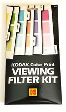 New! Kodak Color Print Viewing Filter Kit publication R-25 Cat 150 0735 Sealed