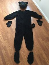 Black Panther Mascot Costume Vintage