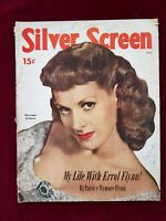 VINTAGE REVISTA MAGAZINE SILVER SCREEN JULY 1951 PATRICE WIMORE FLYNN TAYLOR #5