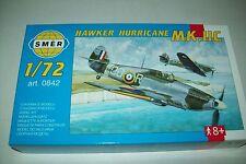 SMER  HAWKER HURRICANE MkIIc  1:72 scale  kit