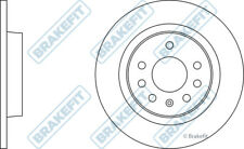 OPEL VECTRA C 1.8 2x Brake Discs (Pair) Solid Rear 02 to 08 279mm Set Brakefit