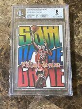 1998-99 Skybox Premium Michael Jordan Soul Of The Game #1 Bulls BGS 8 w/ 9.5 & 9