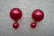 Anthropologie Pearl Stud Costume Earrings