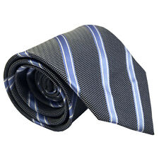(NT2008) 100% Silk Blue Men Necktie Wedding Office Business Party Formal Tie New