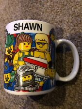"""Shawn"" LEGO Mall of America Minnesota Coffee Mug Cup Personalized 10 oz."