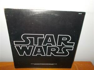Star Wars Original Soundtrack . John Williams w/ Poster & Insert . 2x Record LP