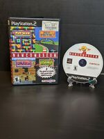 Namco Museum (Sony PlayStation 2, PS2, 2001)*Black Label*No Manual*Tested*Clean*