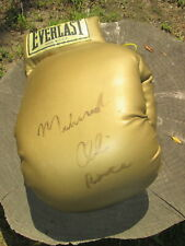 MUHAMMAD ALI Vintage HUGE Autographed EVERLAST GOLD Boxing Glove PEACE