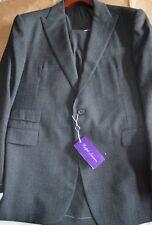 $4995 NWT 44R 54 PURPLE LABEL Ralph Lauren DRAKE Nailhead Peak men's wool suit