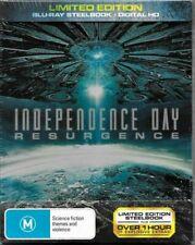 Independence Day: Resurgence (Blu-ray Disc, 2016, Steelbook)