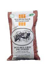 Allen & Page Pot Bellied Pig Food- Micro Pig / Kunekune / Pet Pig Food - 20KG