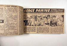 Serge Panine Ohnet Josse strips parus dans l'Aurore TBE