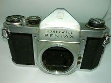 Honeywell Pentax h3 no mirror 35mm slr camera body untested parts (d-41)