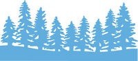 Marianne Design CREATABLES  Cutting & Embossing Die HORIZON FOREST - LR0444