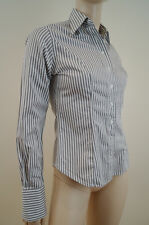 T.M.Lewin Striped Classic Collar Blouse Women's Tops & Shirts