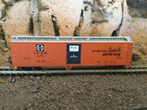 N Scale Atlas 50' mechanical reefer ATSF SANTA FE mtl cplrs NIB