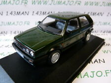voiture 1/43 CORGI VANGUARDS : VOLKSWAGEN GOLF MK2 GTI 16V verte