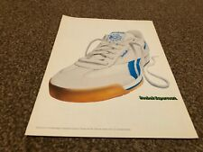"(BEBK55) ADVERT/POSTER 11X8"" REEBOK SUPERCOURTY TRAINING SHOES"