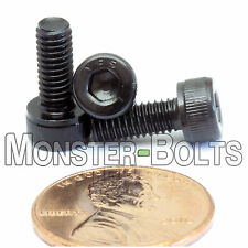 4mm x 0.70 x 10mm - Qty 10 - SOCKET HEAD CAP Screws 12.9 Alloy Steel Black Ox M4