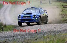 Richard Burns Subaru Impreza WRC2001 RAC Rally 2001 fotografía