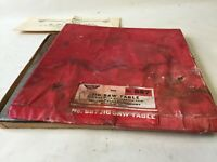 Vintage Millers-Falls #887 Jigsaw Table