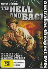 To Hell And Back DVD NEW, FREE POSTAGE WITHIN AUSTRALIA REGION 4