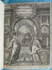 ZETEL : VITA DIVI STANISLAI KOSTKA, Dillingen, 1715. 40 belles gravures.