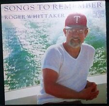 ROGER WHITTAKER - SONGS TO REMEMBER VINYL LP AUSTRALIA