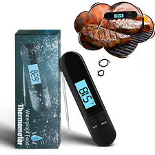 Instant Digital Food Meat Thermometer Read Electronic Cooking BBQ Grill Kitchen