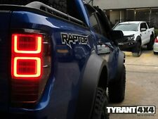 Smoke Black LED Tail Lights Sequential to suit Ford Ranger Raptor PX3 2018-2020