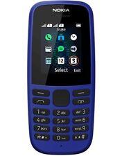 Nokia 105 Bleu Téléphone Portable Débloqué sans SIM