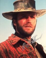 Clint Eastwood Signed Autographed 8x10 Photo +COA