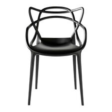 Inspired Master style Off Dining Office Garden chair Black style chic new retro