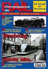CONNAISSANCE DU RAIL - n° 176 - Janvier 1996 - (chemin de fer, train)