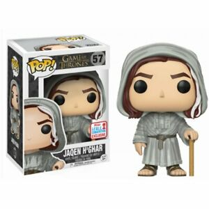 NYCC 2017 Funko POP Game of Thrones JAQEN H'GHAR EXCLUSIVE GOT FACELESS MAN