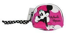 Minnie Mouse Rosa Blanco de lunares Monedero, Fuerte Lona Regalo Gran Idea NUEVO
