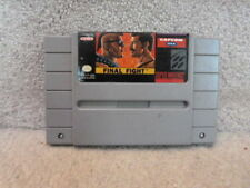 VINTAGE Super Nintendo NES GAME FINAL FIGHT GUARENTEED