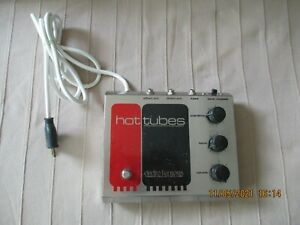Electro-Harmonix Hot Tubes original tube amp overdrive pedale d effet guitare