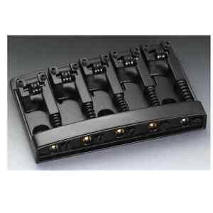 Schaller Bass Bridge Black Chrome - 3D-5 Model - 5 string 12140400